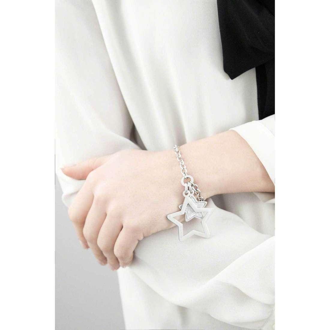 Sagapò bracelets Moonlight femme SML12 indosso