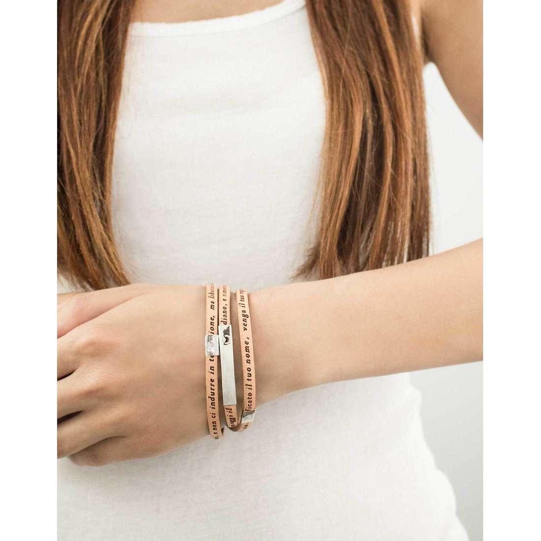 Sector bracelets Love and Love femme SADO20 indosso