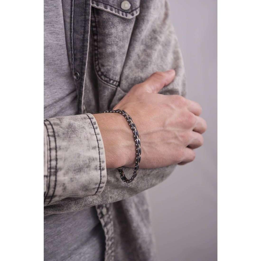 Bliss bracelets C.Reaction homme 20069473 indosso