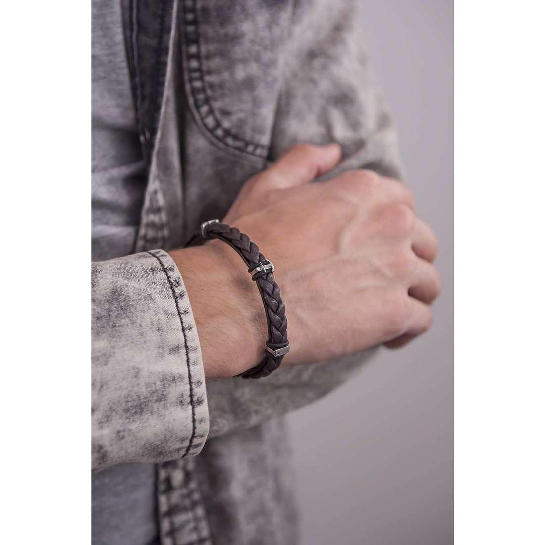 Bliss bracelets Yale homme 20069737 indosso