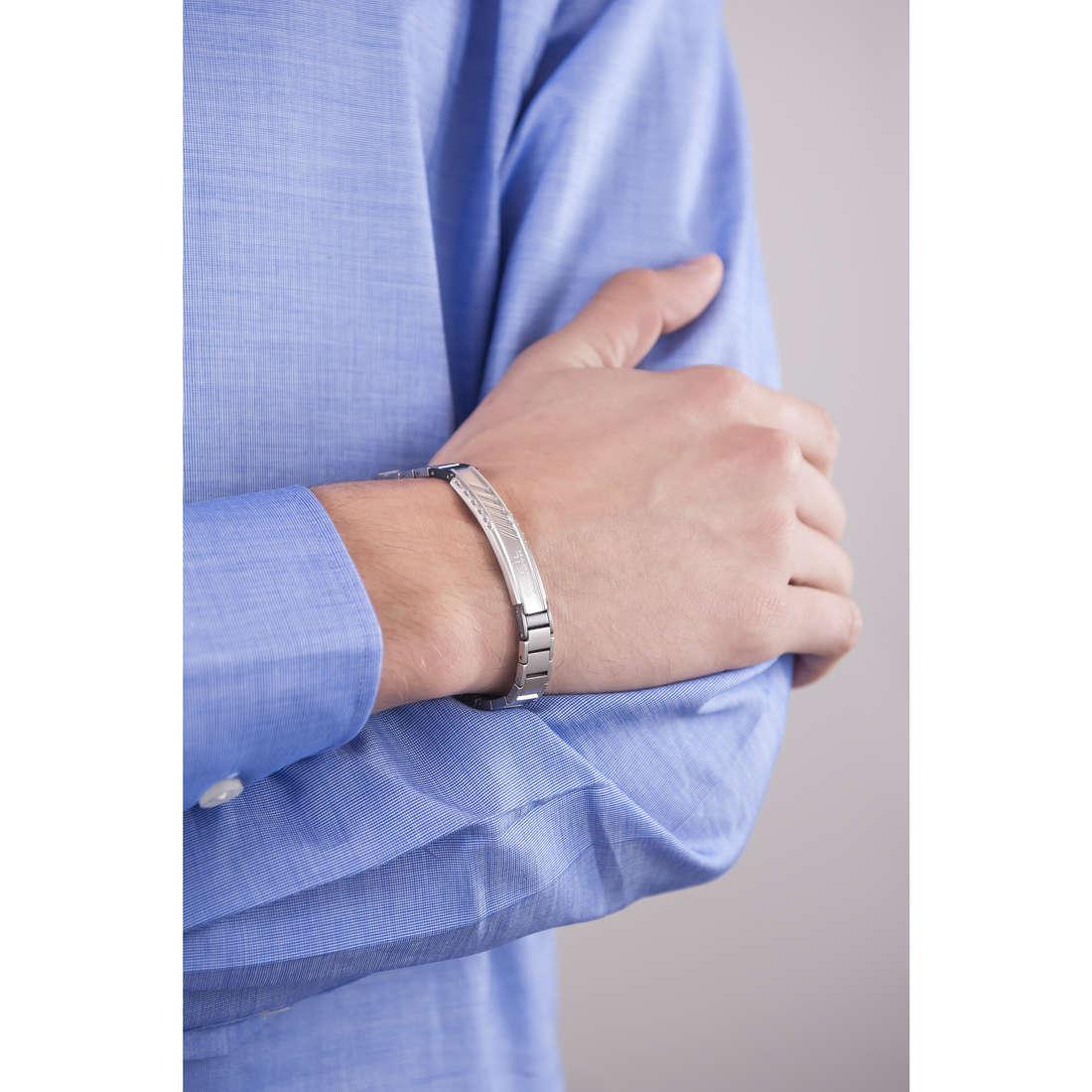 Breil bracelets Abarth homme TJ1869 indosso