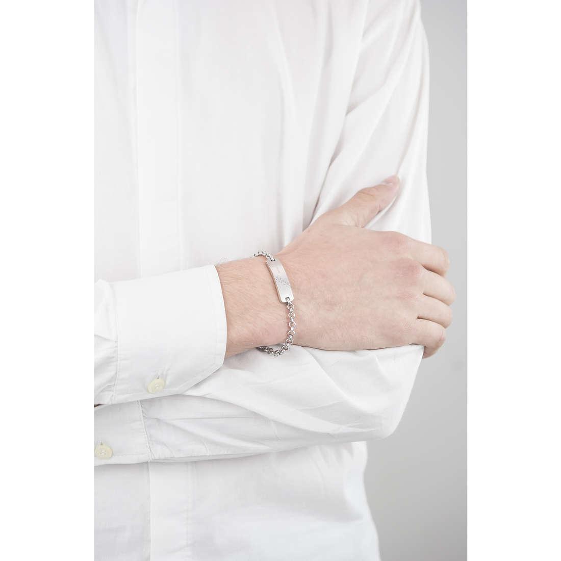 Breil bracelets Bodywork homme TJ1824 indosso