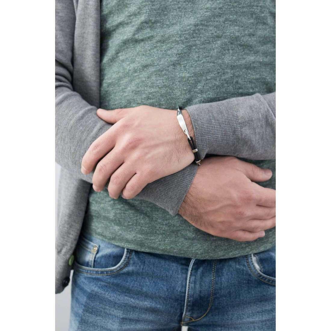 Breil bracelets Flake homme TJ1508 indosso
