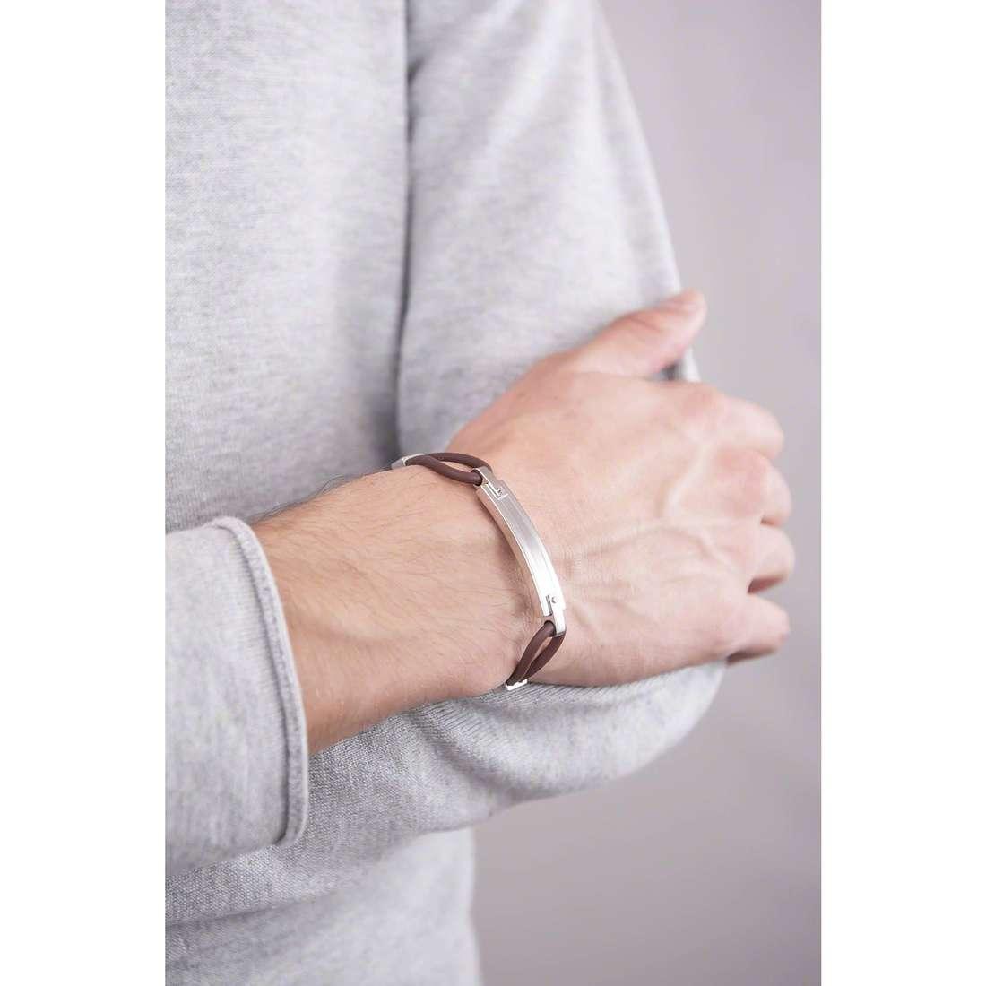 Breil bracelets New Bridge homme TJ1505 indosso