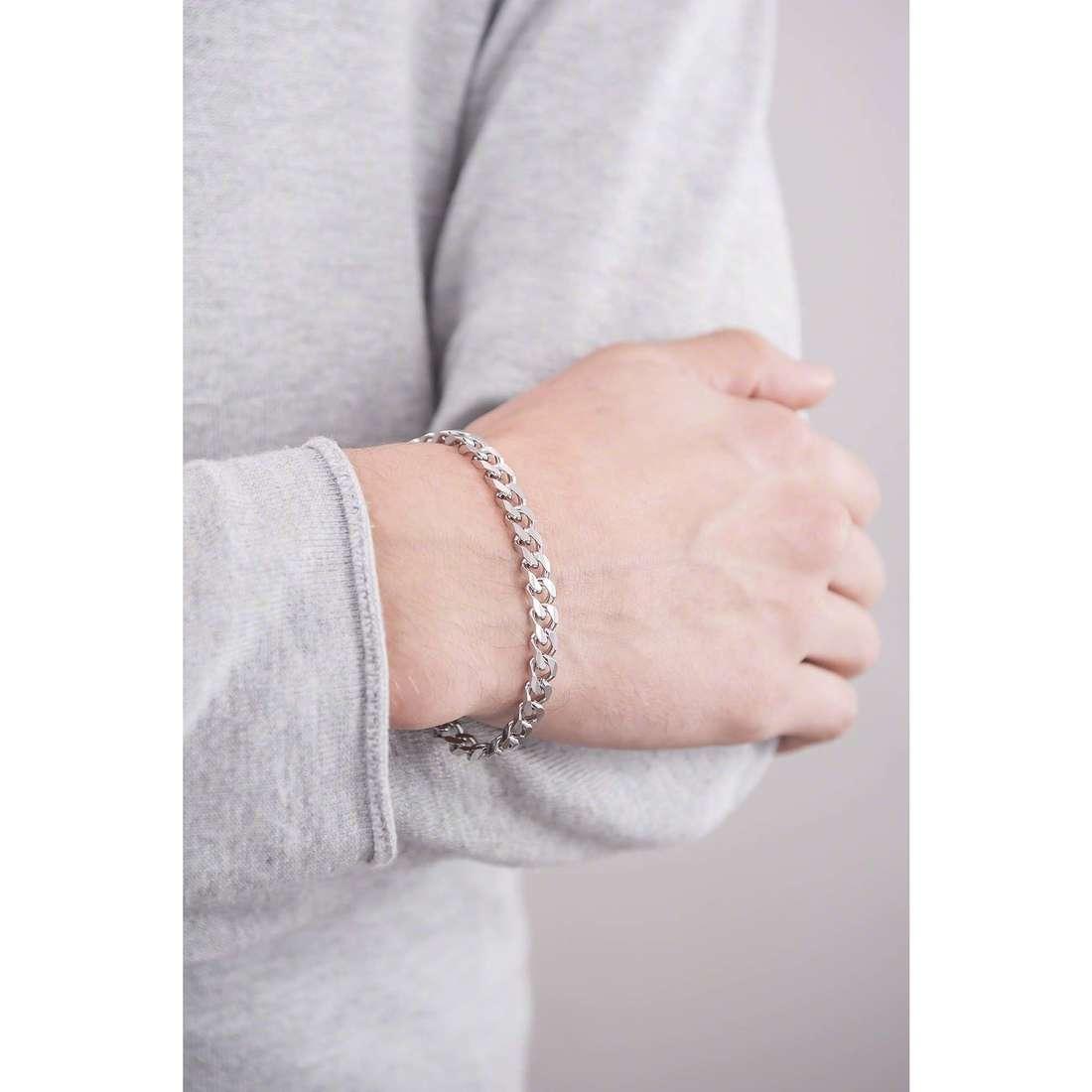 Brosway bracelets Break homme BEK11 indosso