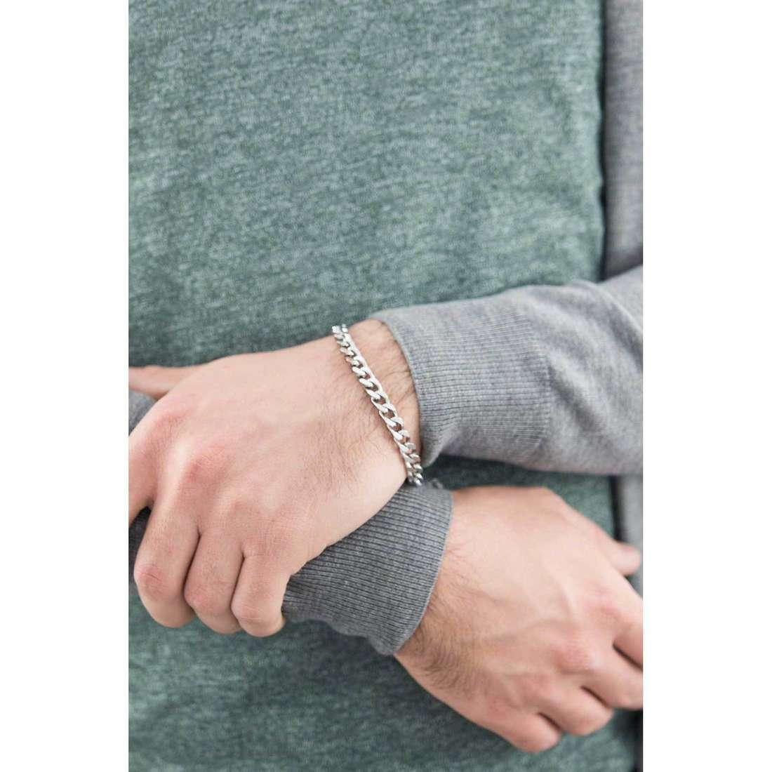 Brosway bracelets Break homme BEK12 indosso