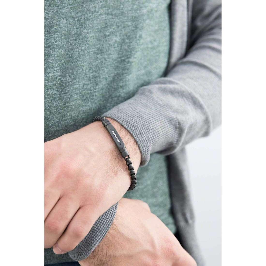 Brosway bracelets Cheyenne homme BCY23 indosso