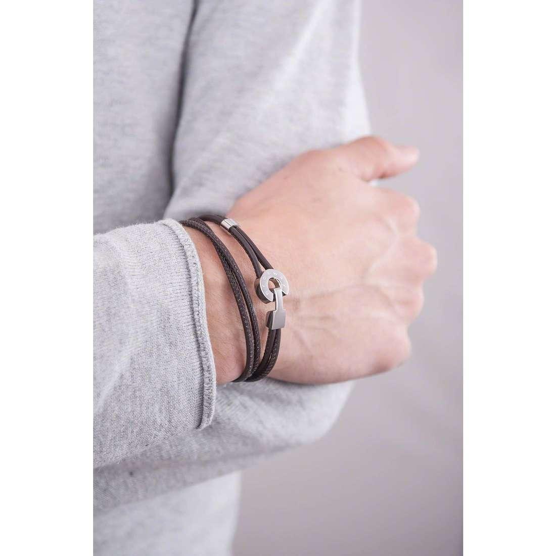 Brosway bracelets Dakota homme BDT02 indosso