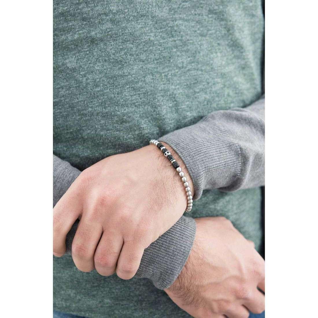Brosway bracelets Himalaya homme BHY15 indosso