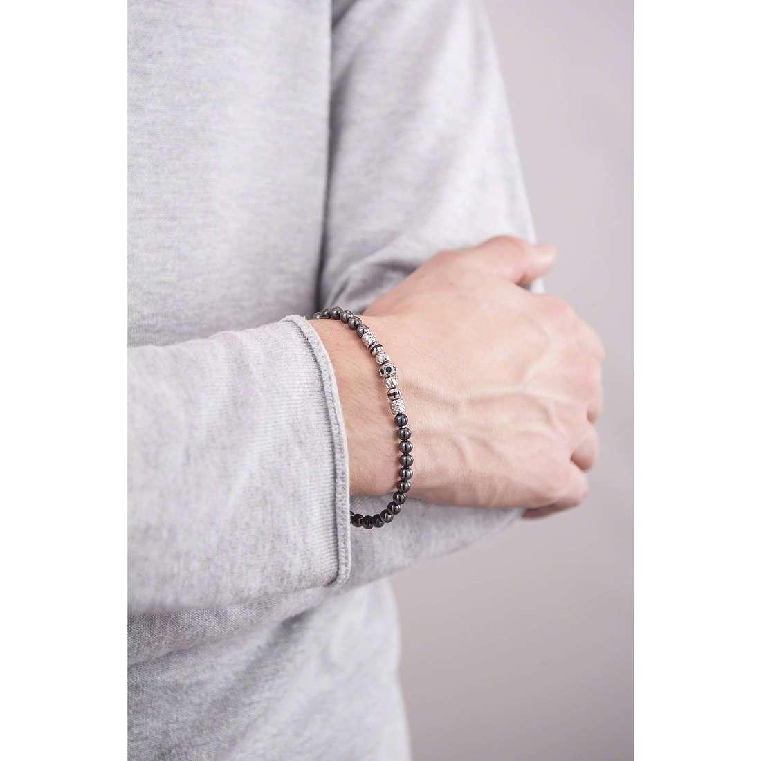Brosway bracelets Himalaya homme BHY16 indosso