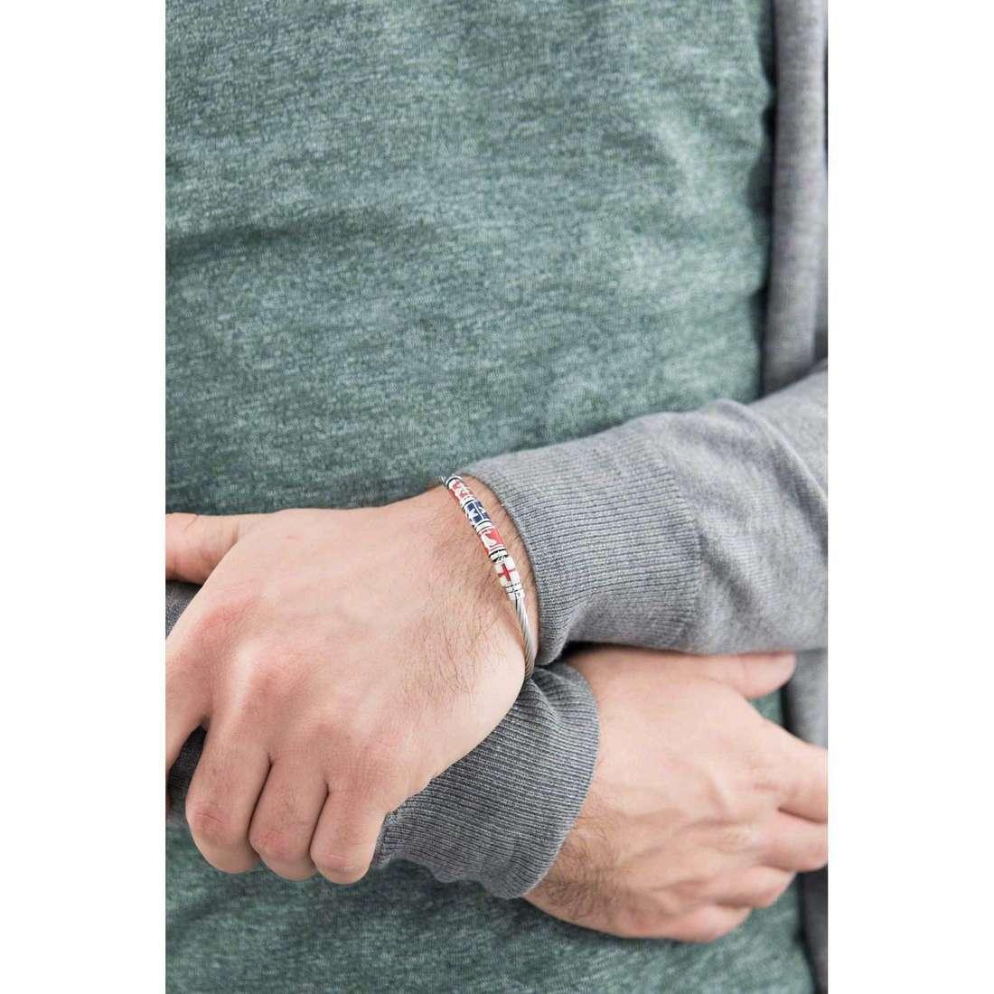 Brosway bracelets Maestrale homme BME01C indosso