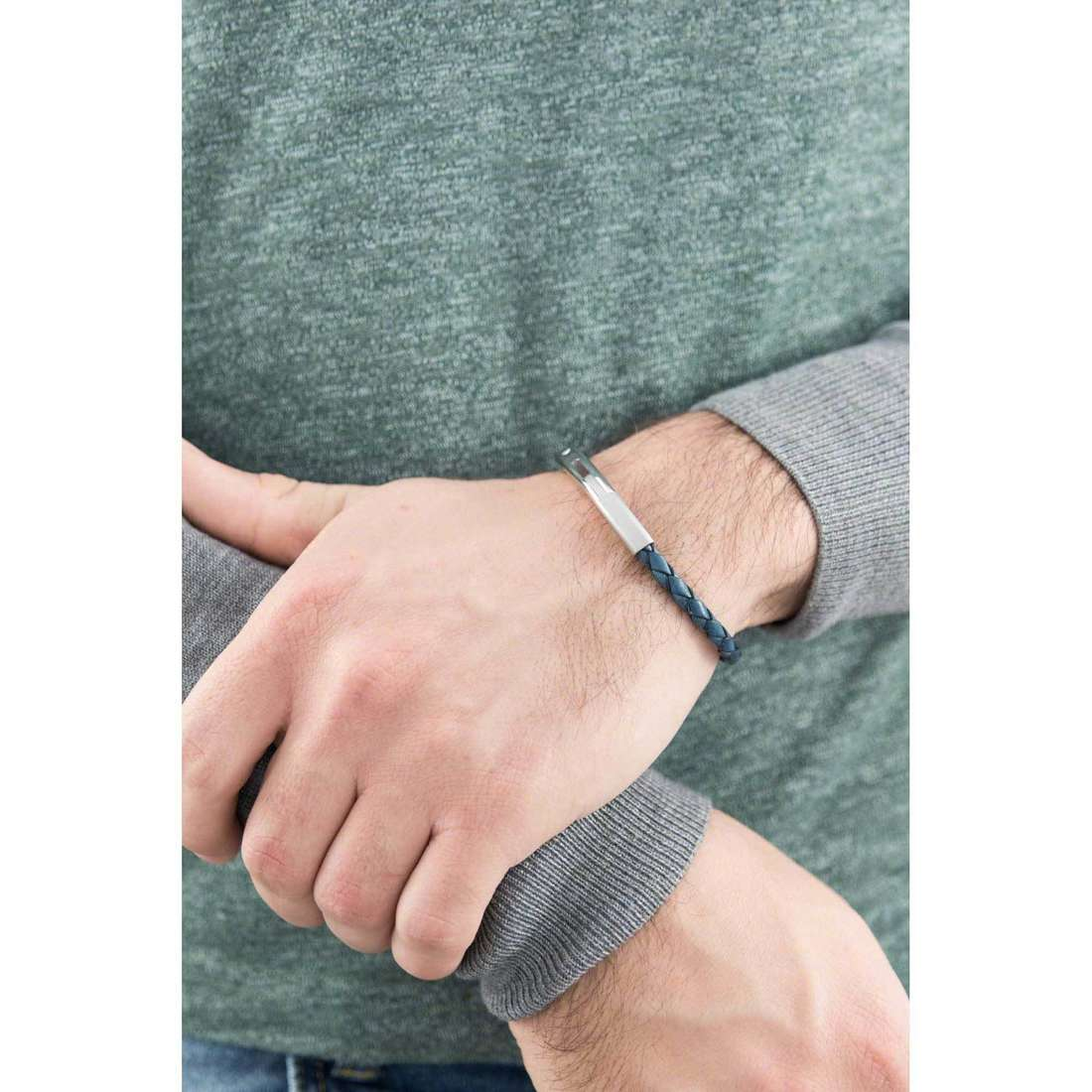 Brosway bracelets Tulum homme BLM01 indosso