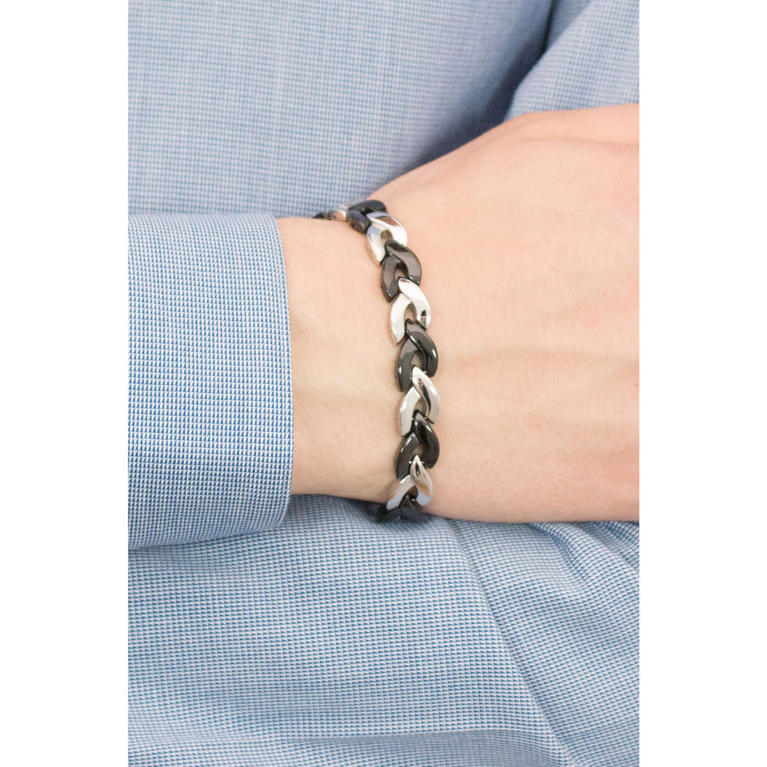 Brosway bracelets Viper homme BVP11 photo wearing