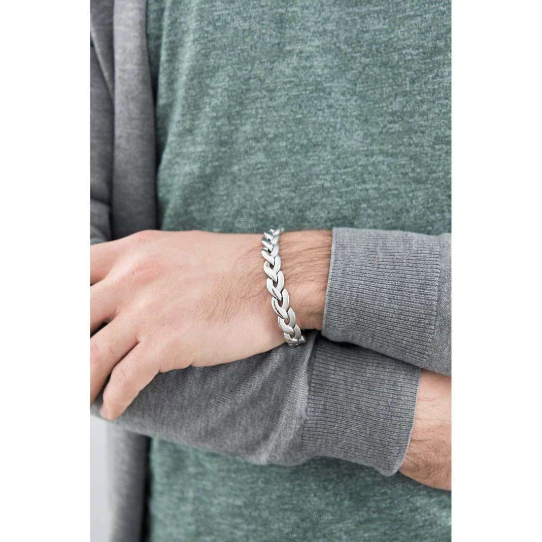 Brosway bracelets Viper homme BVP14 photo wearing