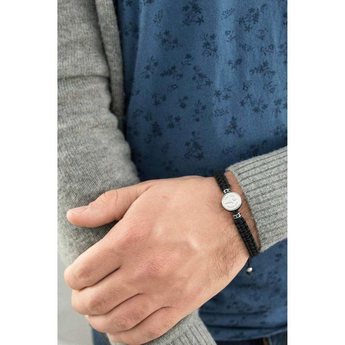 Cesare Paciotti bracelets homme JPBR1095B indosso