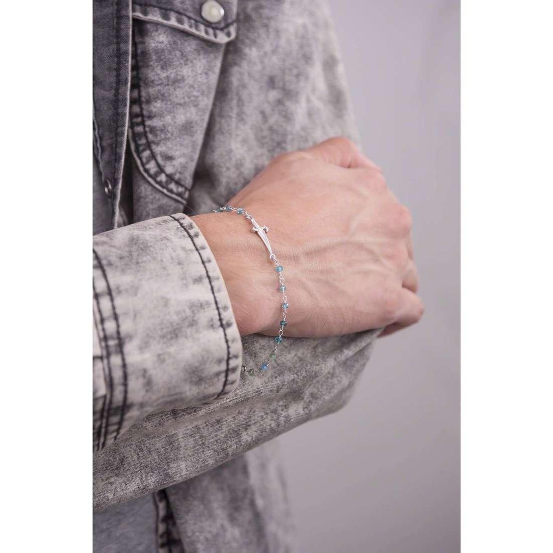 Cesare Paciotti bracelets homme JPBR1206B indosso