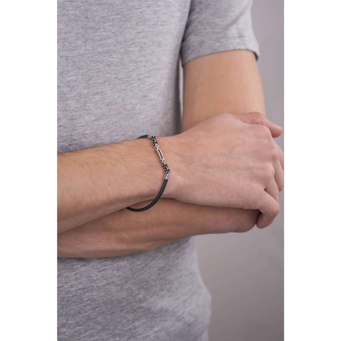 Comete bracelets Extra homme UBR 489 photo wearing