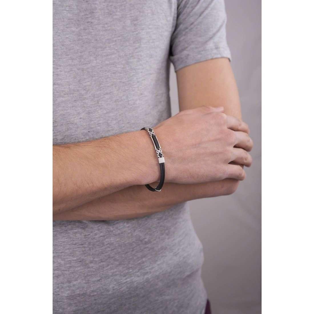 Comete bracelets Extra homme UBR 490 indosso