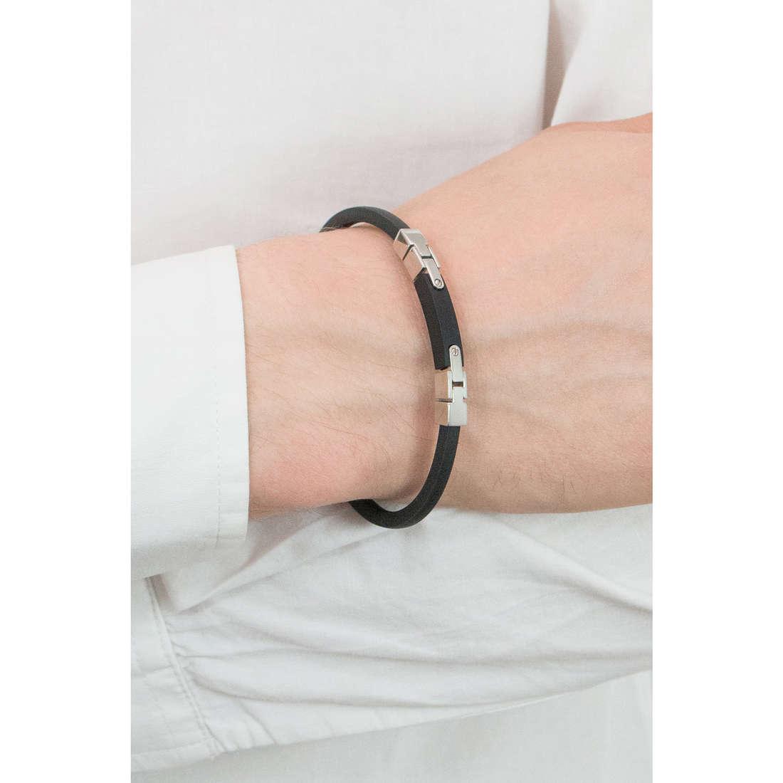 Comete bracelets Link homme UBR 501 indosso