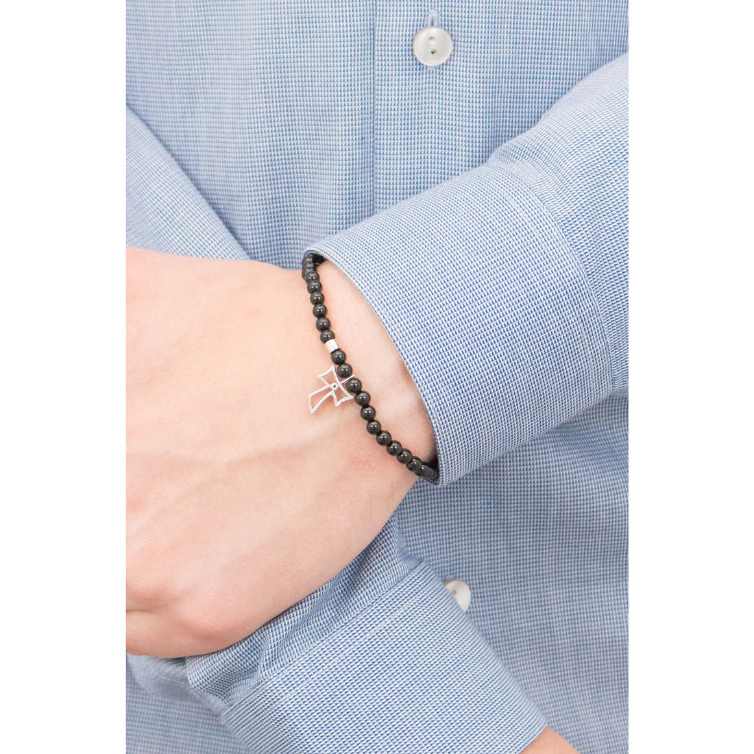 Comete bracelets Holy homme UBR 586 photo wearing