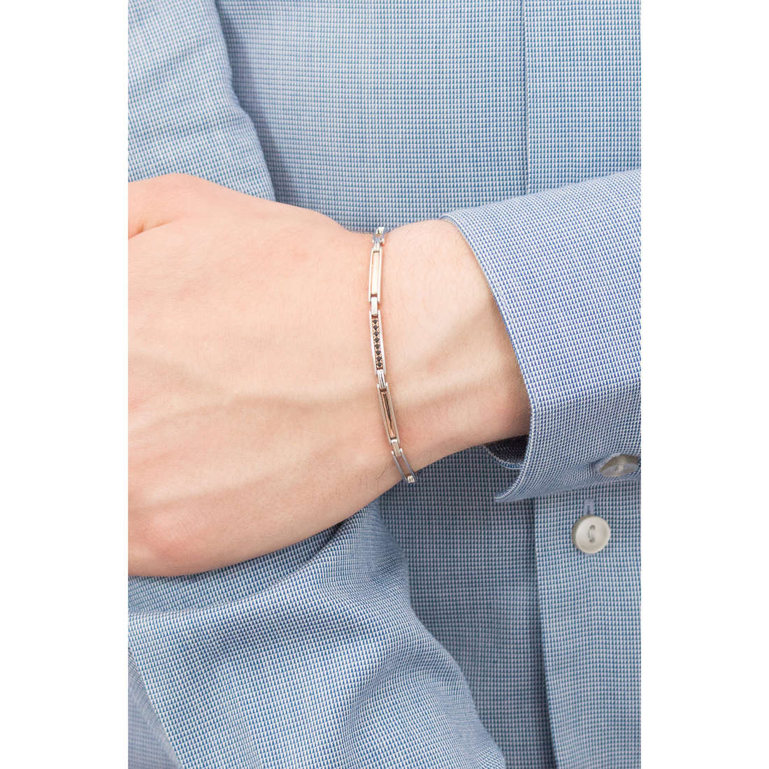 Comete bracelets Business homme UBR 739 photo wearing