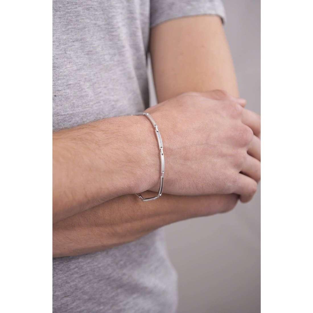 Comete bracelets Business homme UBR 740 indosso
