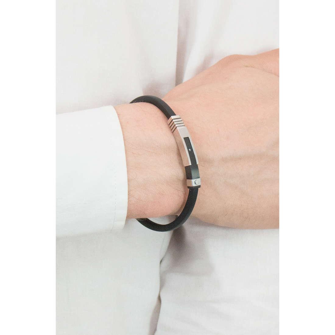 Comete bracelets Hug homme UBR 668 indosso