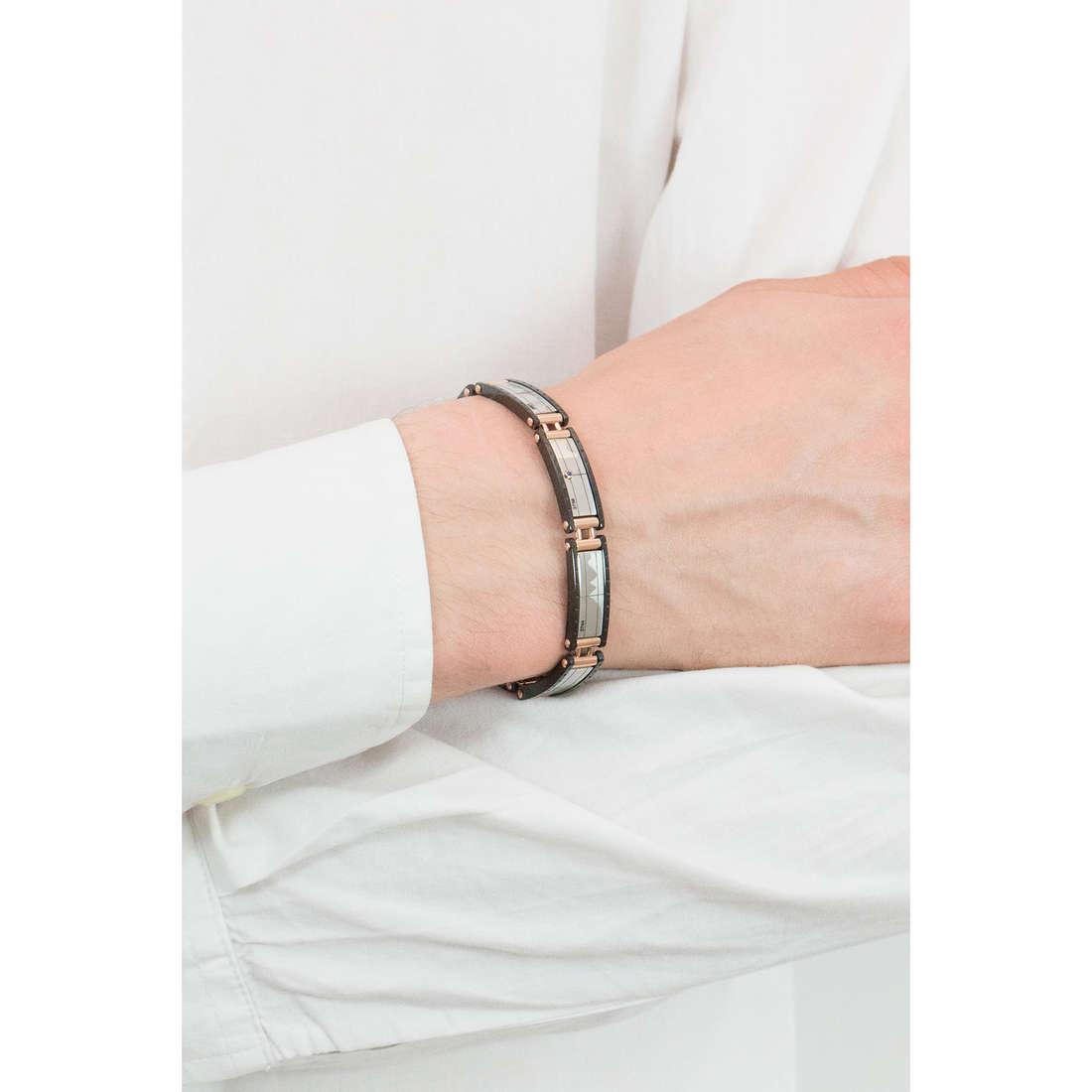 Comete bracelets Traguardi homme UBR 682 photo wearing