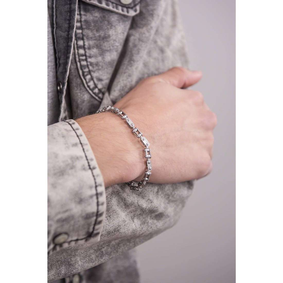 Comete bracelets Traguardi homme UBR 732 photo wearing