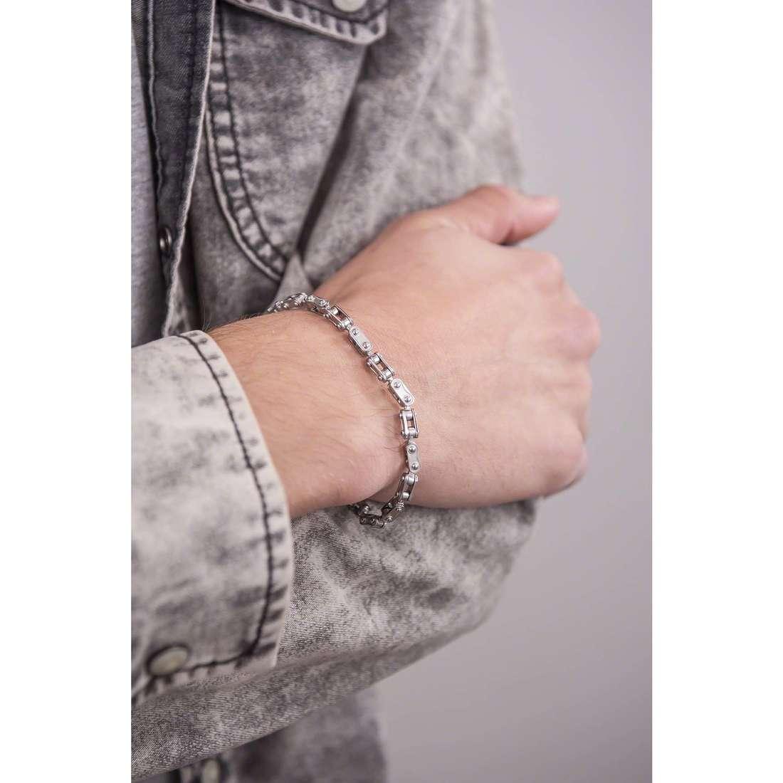 Comete bracelets Traguardi homme UBR 732 indosso