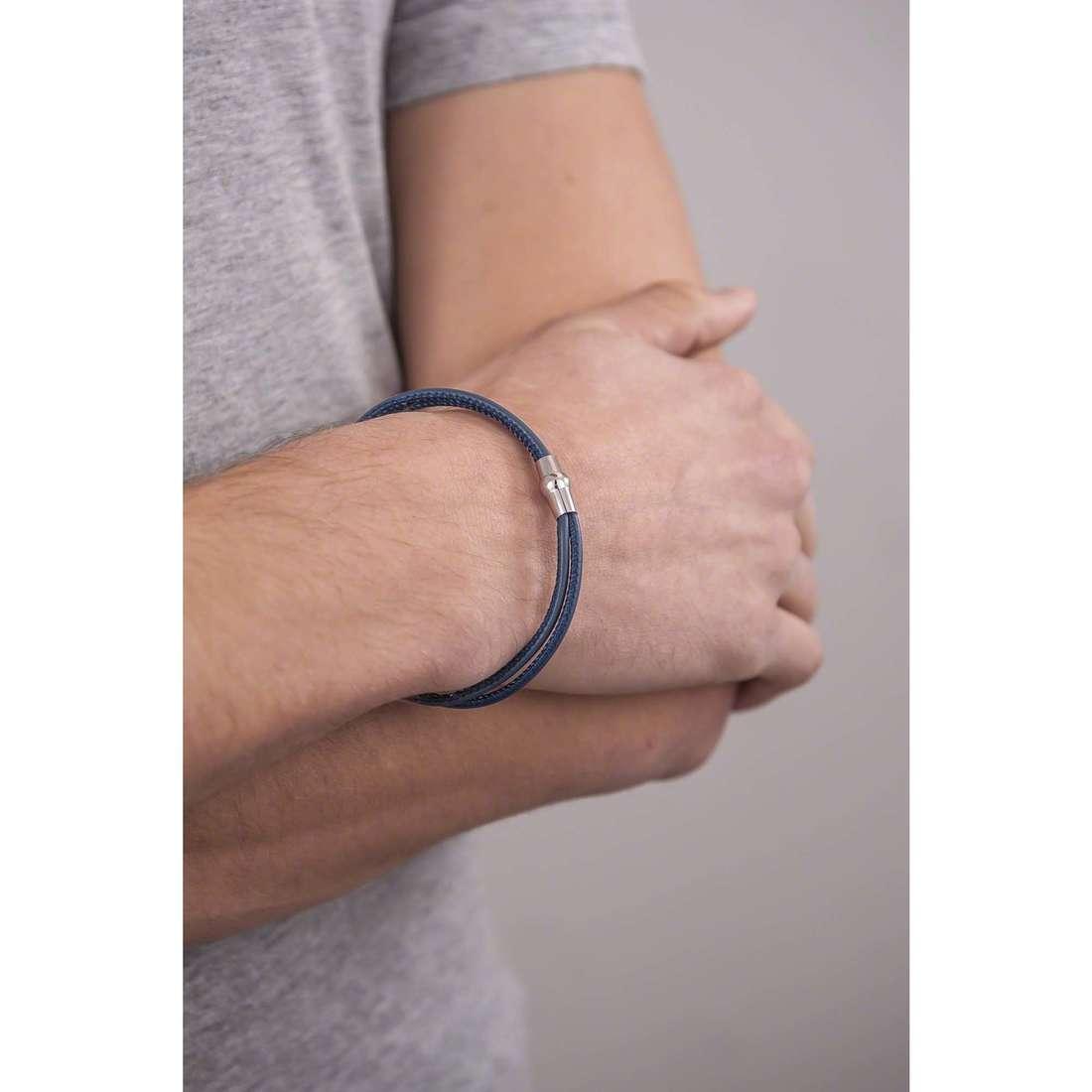 Comete bracelets Fahrenheit homme UBR 598 indosso