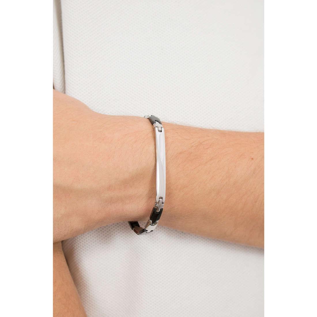 Luca Barra bracelets homme LBBA506 indosso