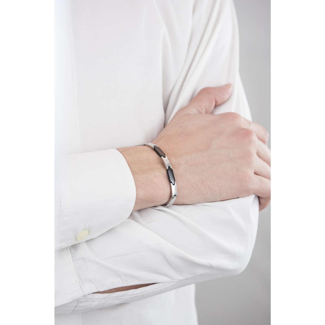 Luca Barra bracelets homme LBBA555 indosso