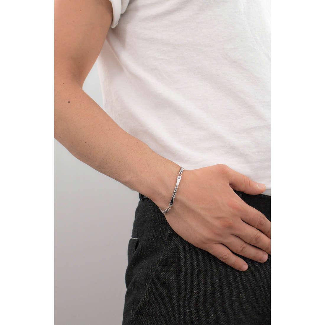 Luca Barra bracelets homme LBBA612 indosso