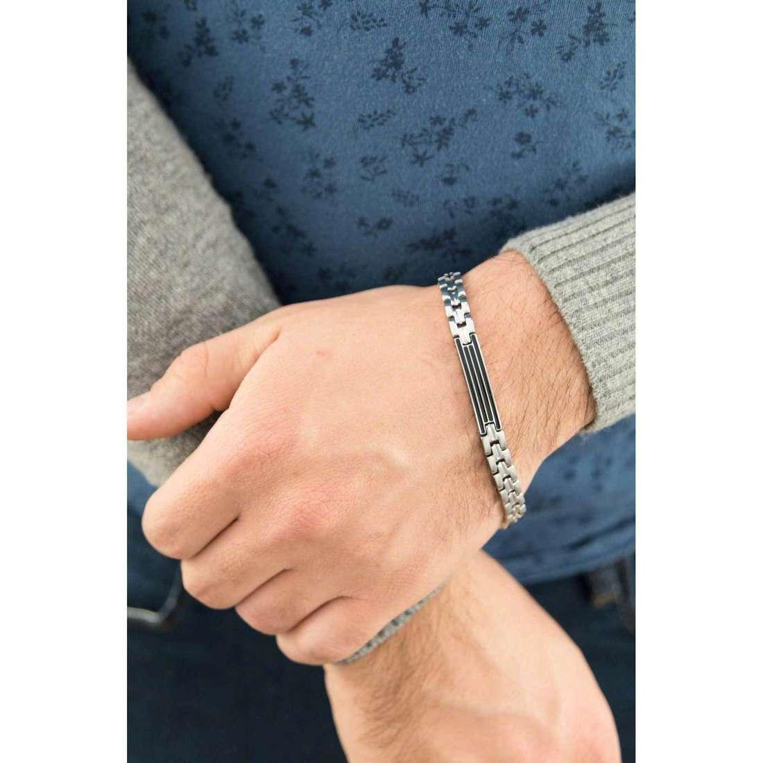 Luca Barra bracelets homme LBBA623 indosso