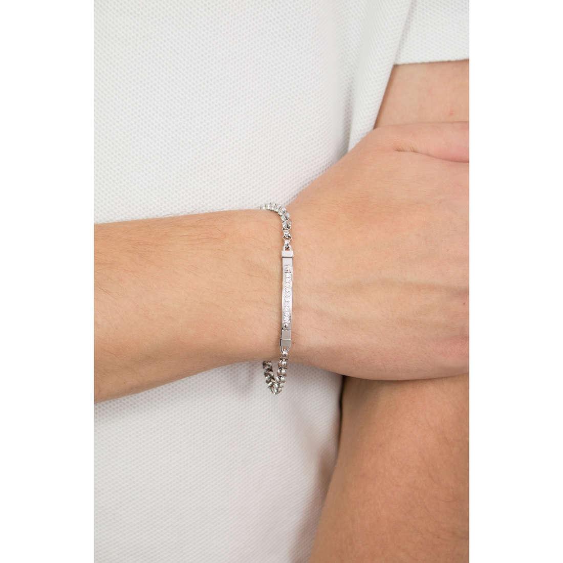 Luca Barra bracelets homme LBBA626 indosso