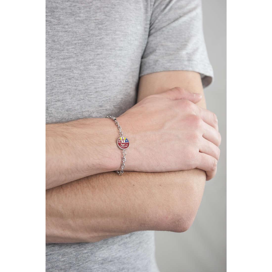 Luca Barra bracelets homme LBBA755 indosso