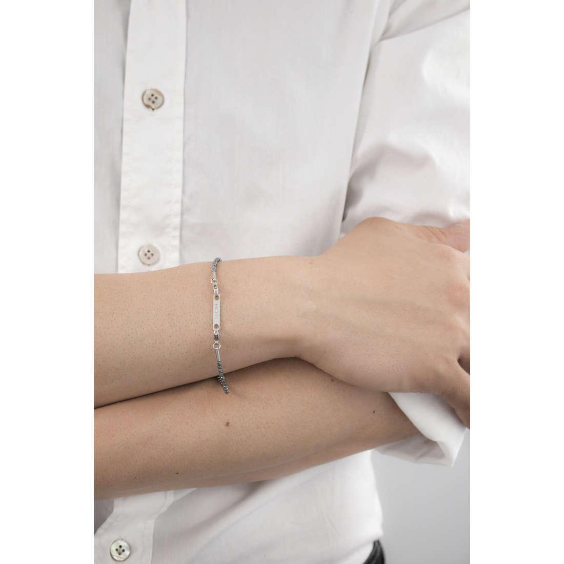 Marlù bracelets Man Class homme 4BR1689 indosso