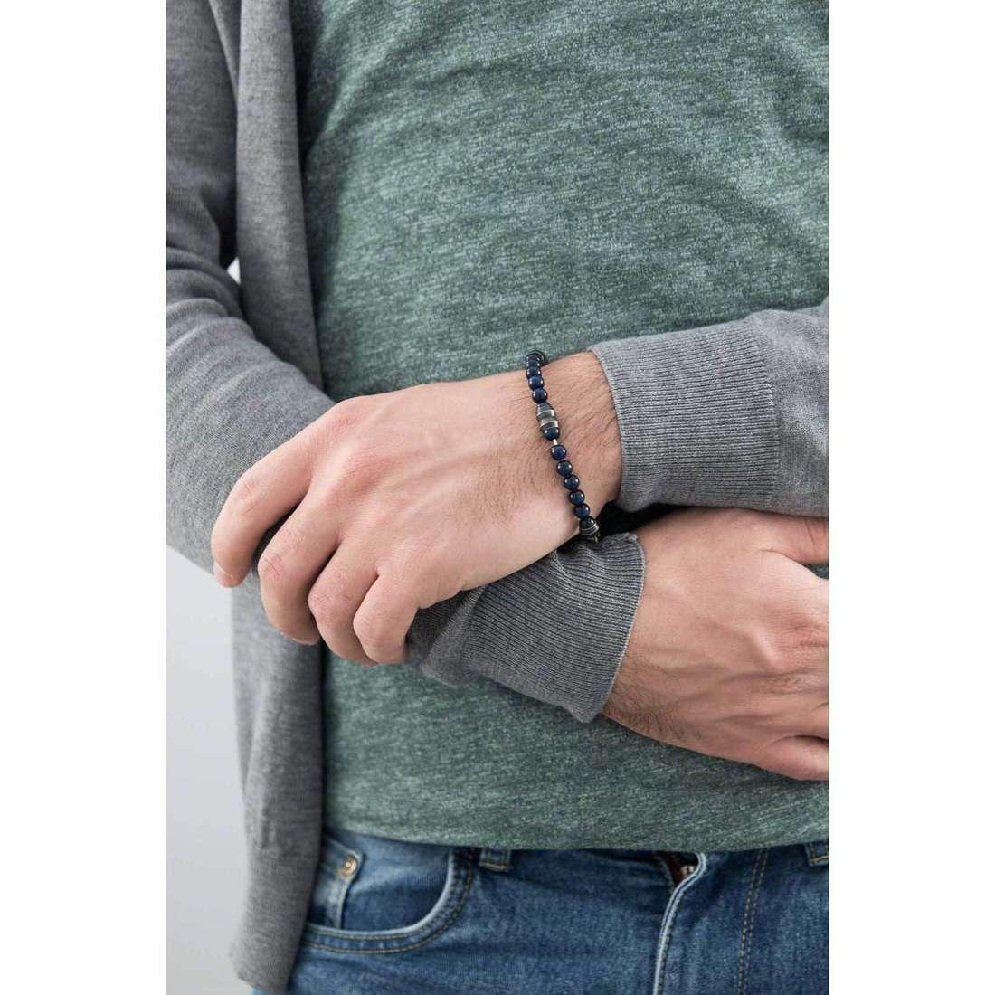 Morellato bracelets Boules homme SACT04 indosso