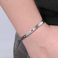bracelet homme bijoux Morellato Cross SKR44