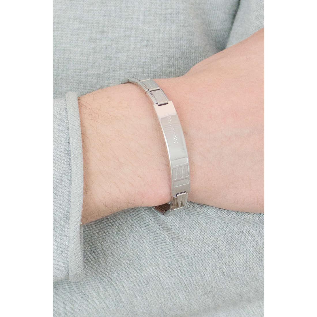 Nomination bracelets Trendsetter homme 021108/008/004 indosso
