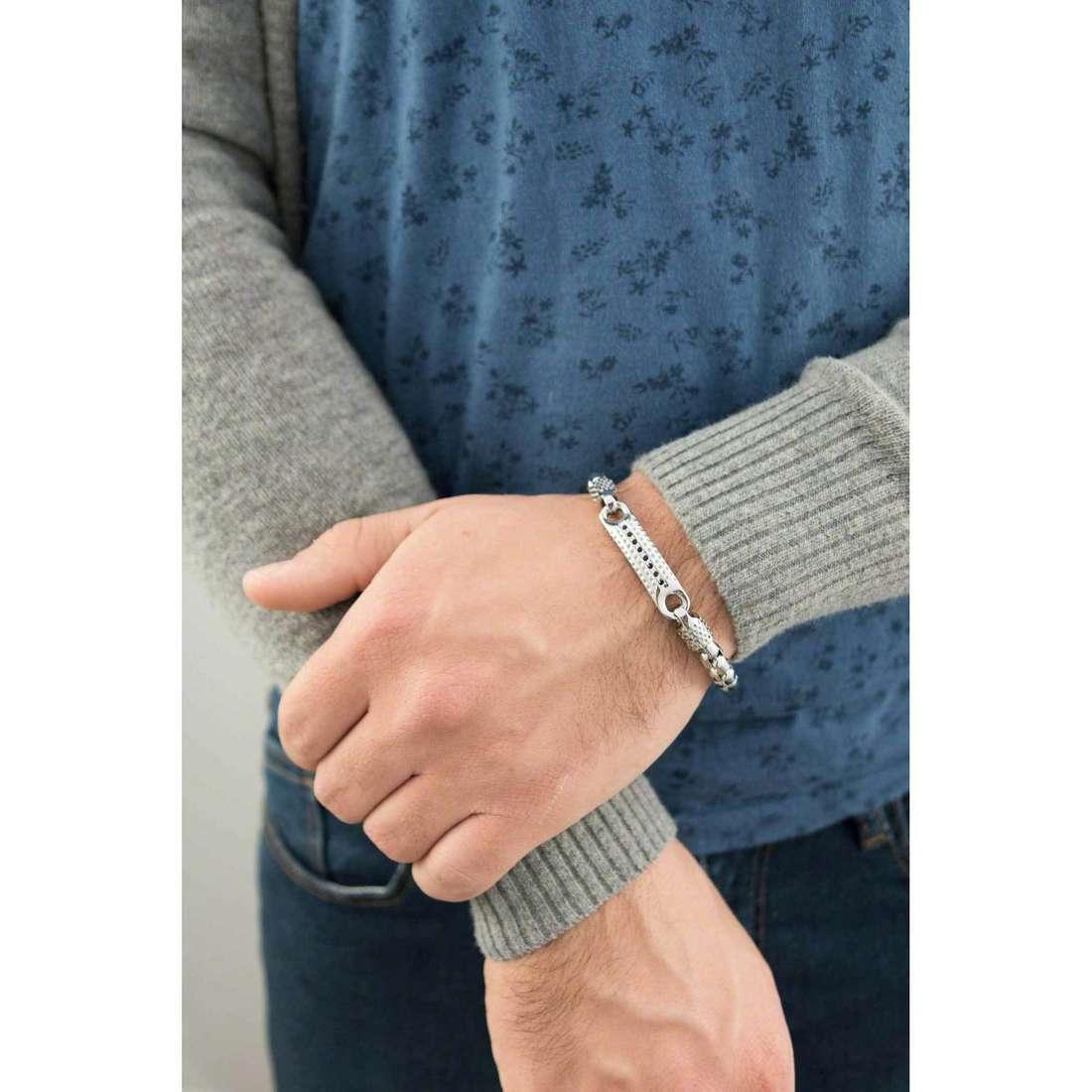 Sagapò bracelets Ground homme SGD12 indosso