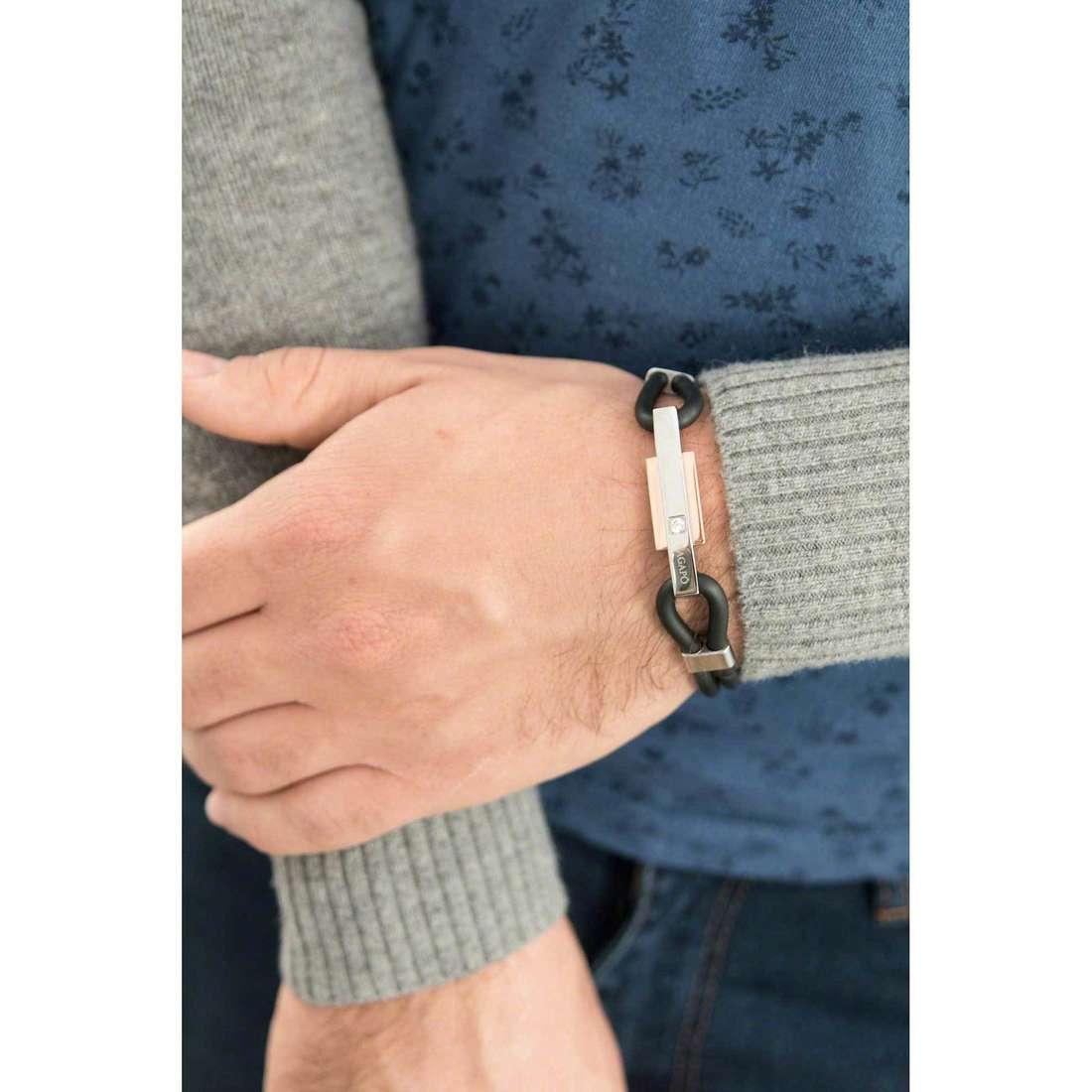 Sagapò bracelets Panama homme SPA06 indosso