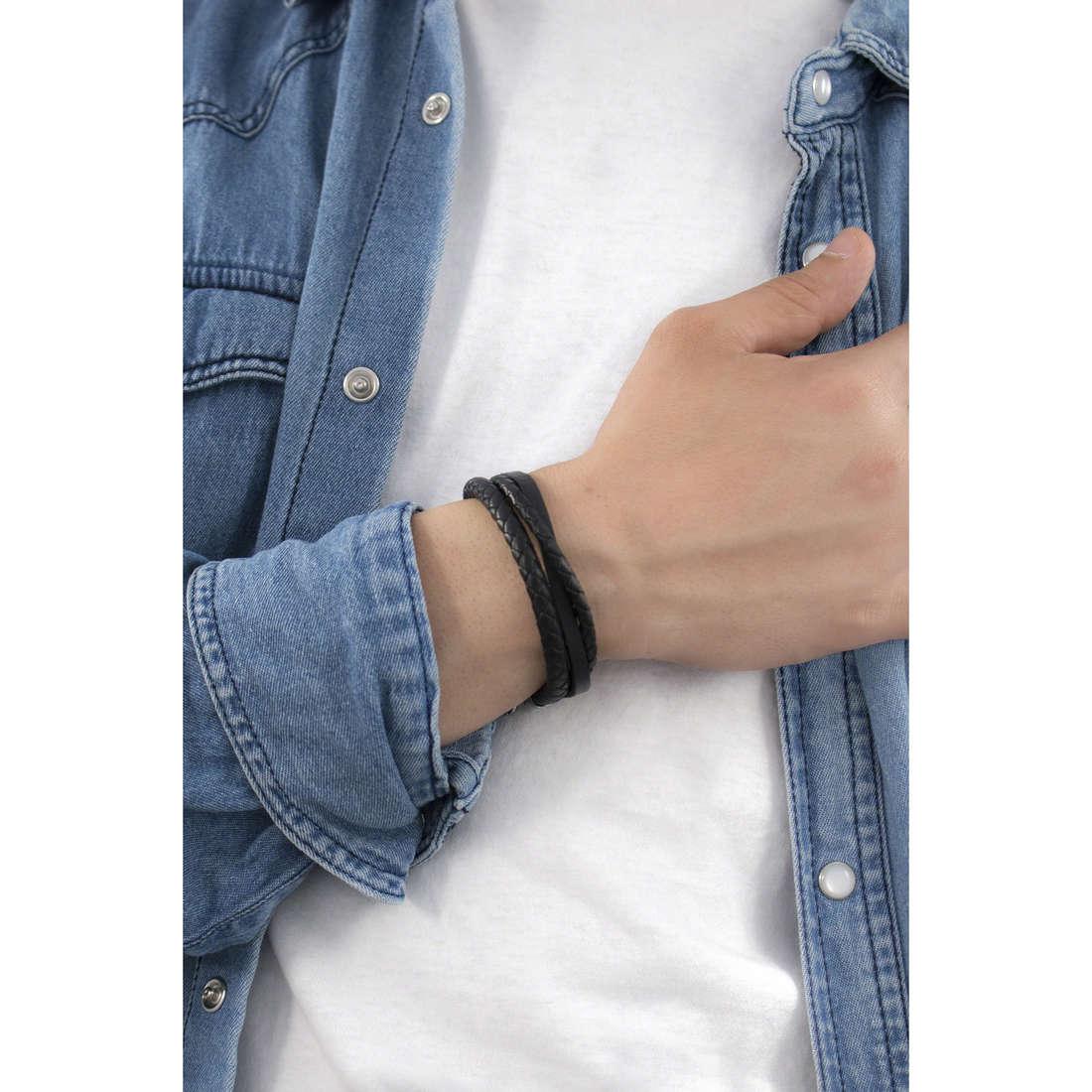 Sector bracelets Bandy homme SLI44 indosso