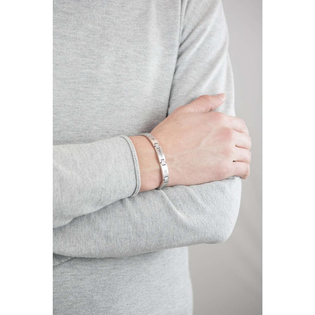 Sector bracelets Basic homme SLI62 indosso