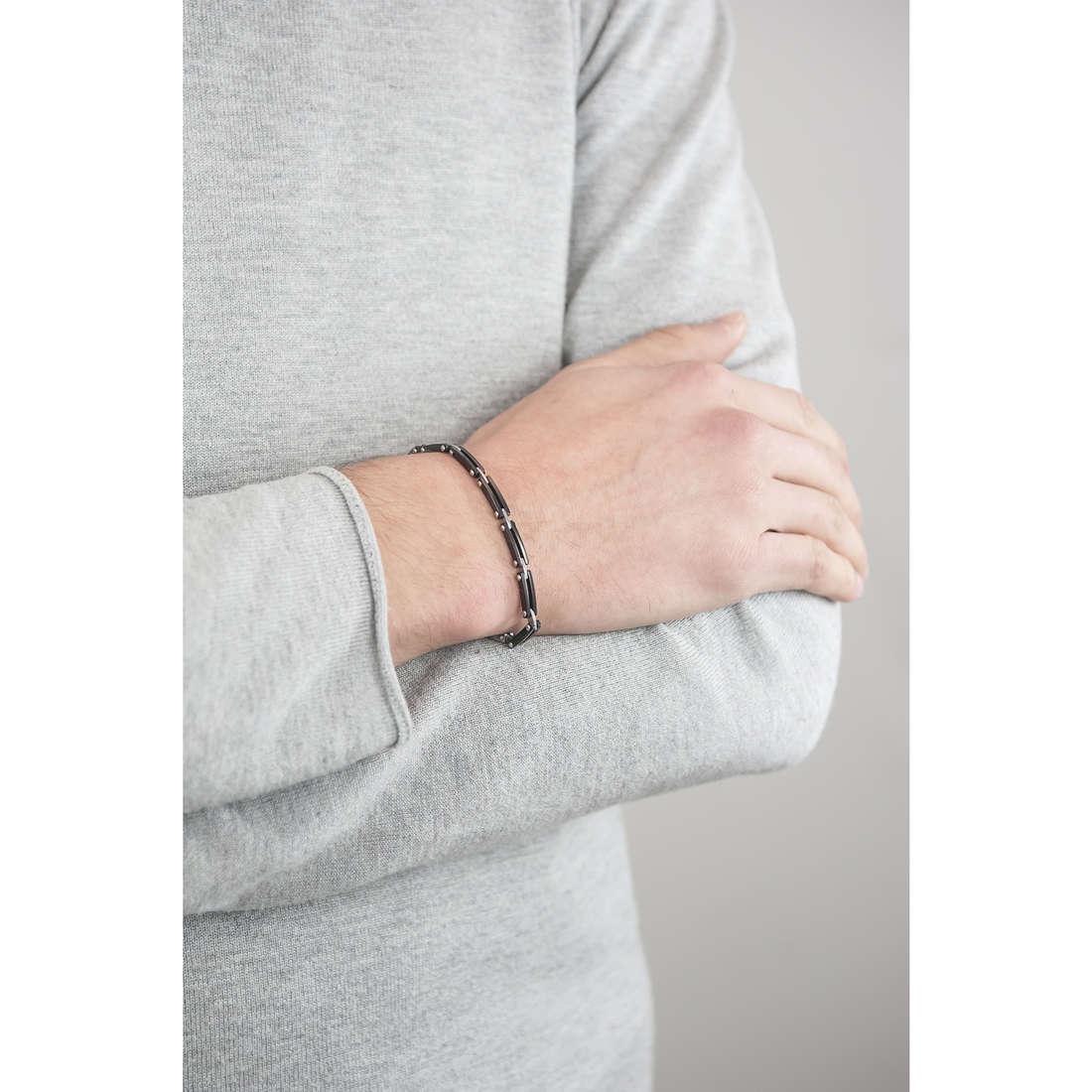 Sector bracelets Energy homme SAFT05 indosso