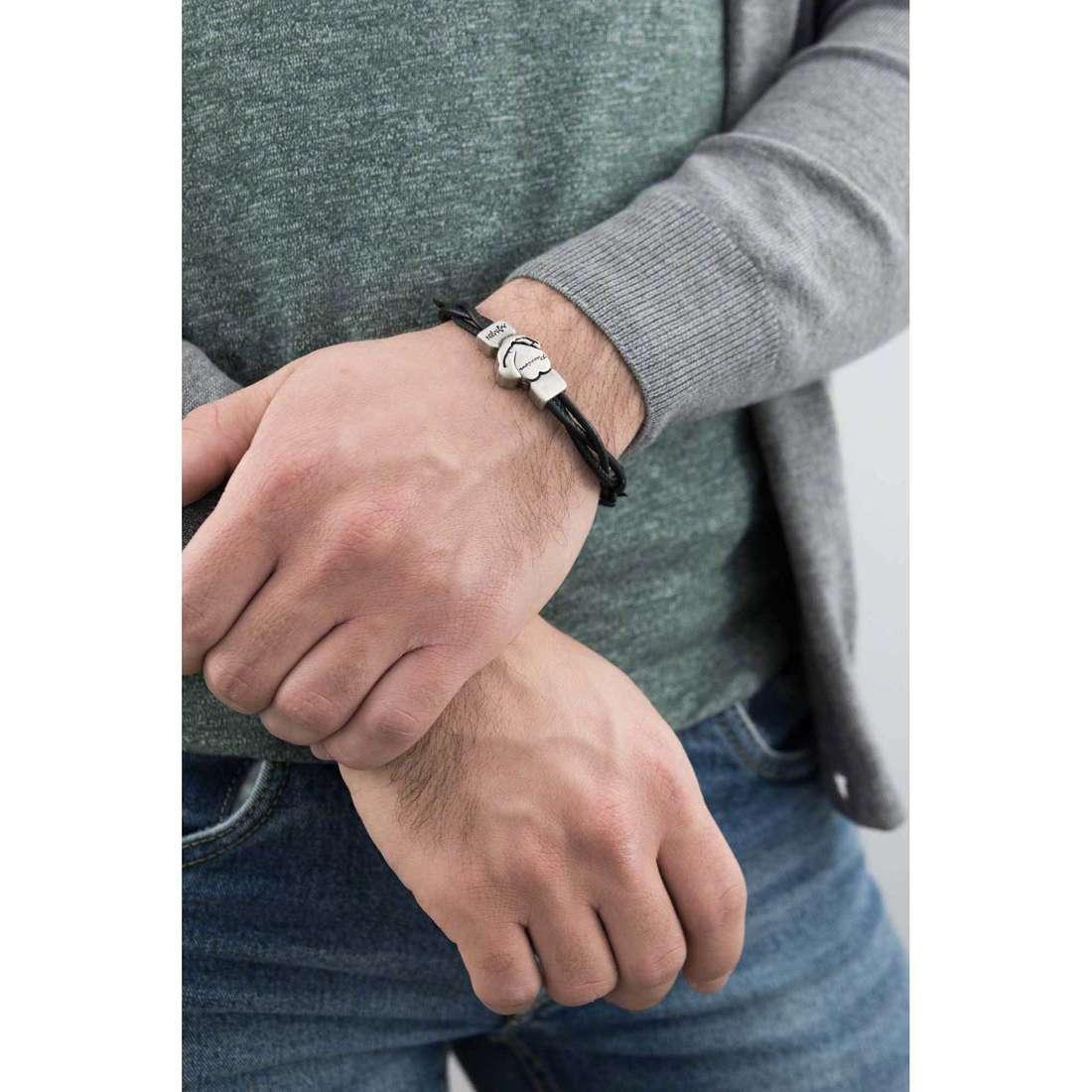 Amen bracelets Passion man BR2PA02-L indosso