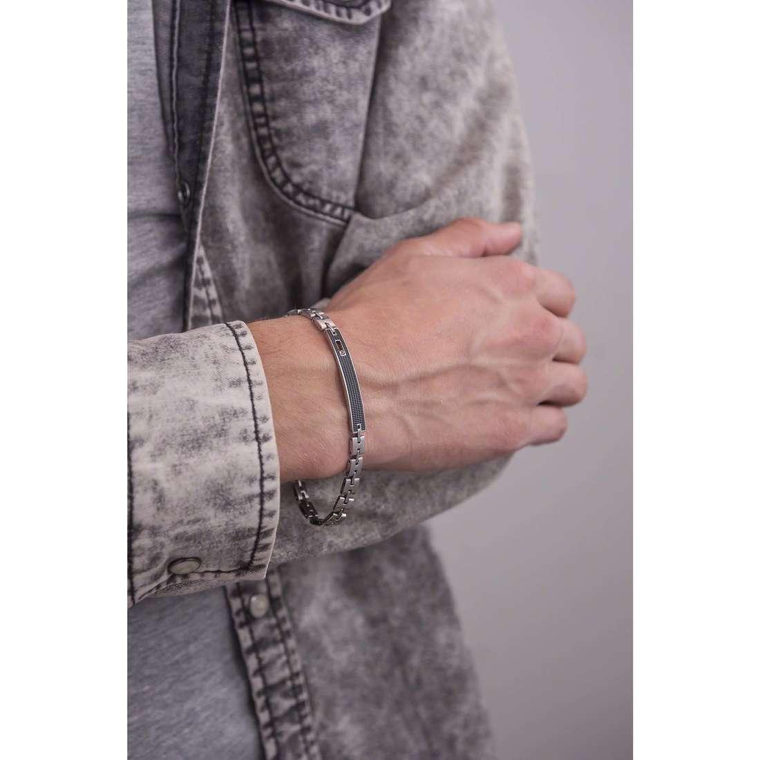 Bliss bracelets Urban Tag man 20069461 indosso