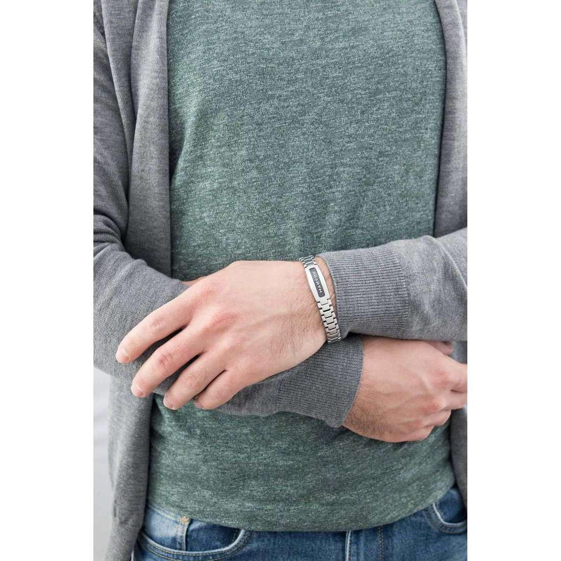 Breil bracelets Abarth man TJ1888 indosso