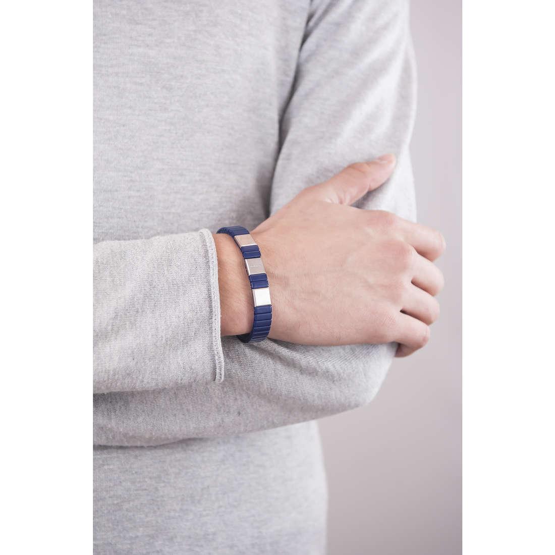 Breil bracelets Ceramic man TJ1667 indosso